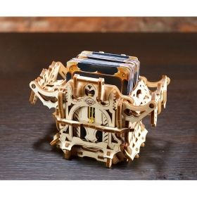 Механичен 3D пъзел - Катинар с код