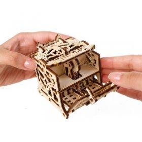 Механичен 3D пъзел Ugears - Кутия за зарове