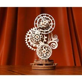 Механичен 3D пъзел Ugears - Стиймпънк часовник
