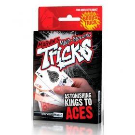 Шокиращи фокуси с карти – Кралете на асата