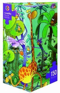 Мини пъзел Heye от 150 части - Жирафче, Гилермо Мордильо