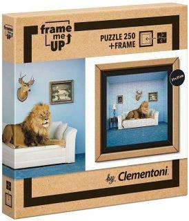 Пъзел Clementoni Frame Me Up от 250 части - Властелинът на къщата