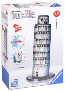 3D Пъзел Ravensburger от 216 части - Кулата в Пиза