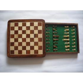 """Шахматен комплект магнитен с отваряне тип """"чекмедже"""" 30см"""