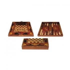 Комплект шах,табла и дама Egypt - малък