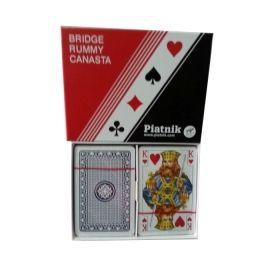 Карти за игра Piatnik, модел Standart - 2 тестета в опаковка