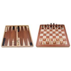 Комплект шах,табла и дама - голям