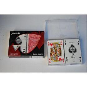 Карти за игра 100% пластик Fournier