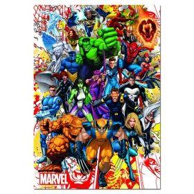 Пъзел Едука 500 части Marvel Heroes