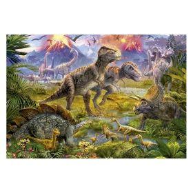 Пъзел Едука 500 части Dinosaur Gathering