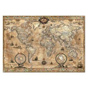 Пъзел Едука 1000 части World Map