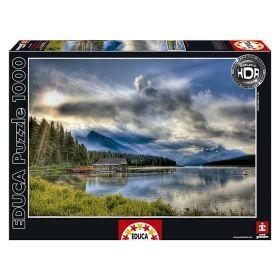 Пъзел Едука 1000 части Maligne Lake, Canada
