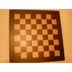 Дървена шахматна дъска: Венге и Чемшир