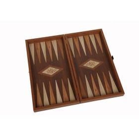 Комплект шах и табла Manopoulos - Венге, 52x48 см