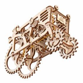 Механичен 3D пъзел Ugears - Трактор