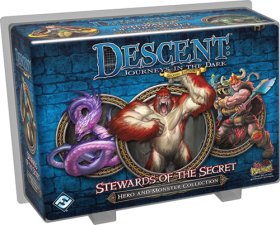 DESCENT 2nd EDITION - STEWARDS OF THE SECRET - Extension