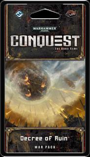 WARHAMMER 40 000 - CONQUEST: DECREE OF RUIN - War Pack 6