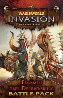 WARHAMMER INVASION - THE BURNING OF DERRICKSBURG - BATTLE PACK 2