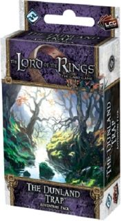 The LORD Of The RINGS The Card Game - THE DUNLAND TRAP - Adventure Pack 1