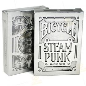 Карти за игра Bicycle Steam Punk Silver