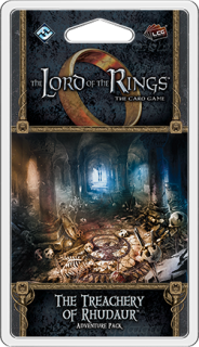 The LORD Of The RINGS The Card Game - The Treachery of Rhudaur - Adventure Pack 4