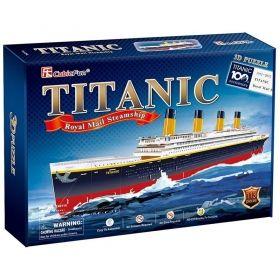 3D Пъзел Cubic Fun от 113 части – Titanic