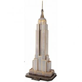 3D Пъзел Cubic Fun от 66 части - Empire State Building, New York