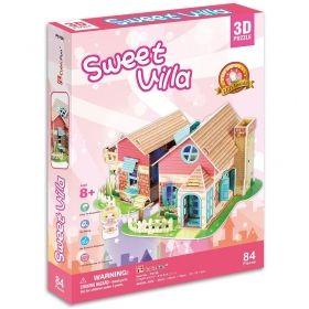 3D Пъзел Cubic Fun от 84 части - Сладка Вила