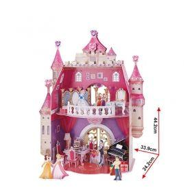 3D Пъзел Cubic Fun от 95 части - Рожденият ден на Принцесата