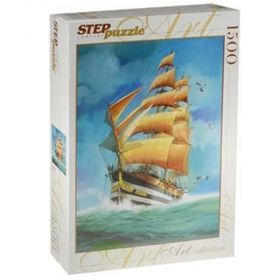 Пъзел Step Puzzle - В открито море - 1500 ч.