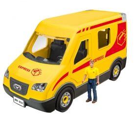 Детски комплект Revell – сглобяем модел – Куриерски камион