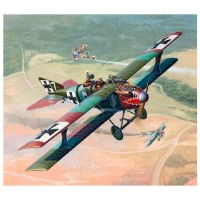 Сглобяем модел Revell – Самолет Ролан C. II