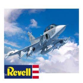 Сглобяем модел Revell – Изтребител JAS-39D СААБ