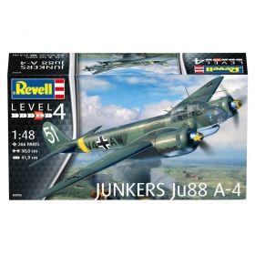 Сглобяем модел Revell – Самолет Junkers Jun88 A-4