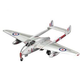 Сглобяем модел Revell – Самолет Вампайър F Mk.3