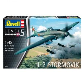 Самолет Ил-2 Щурмовик - Сглобяем модел Revell