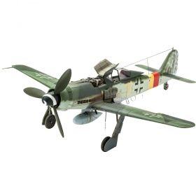 Самолет Фоки Улф Fw190 D-9 - Сглобяем модел Revell