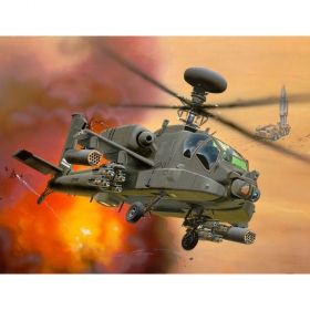 Военен хеликоптер AH-64D Longbow Apache - Сглобяем модел Revell