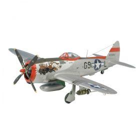 Изтребител Republic P-47D-30 Thunderbolt - Сглобяем модел Revell