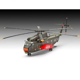 Тежкотоварен хеликоптер Sikorsky CH-53G - Сглобяем модел Revell