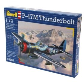 Военен самолет P-47M Thunderbolt - Сглобяем модел Revell