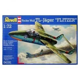 """Военен изтребител Focke Wulf TL – Jäger """"Flitzer"""" - Сглобяем модел Revell"""