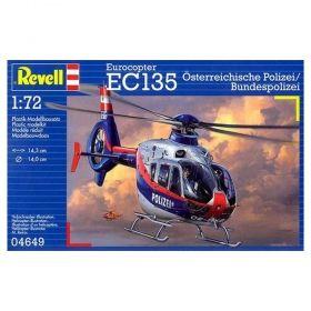 Хеликоптер Eurocopter EC135 - Сглобяем модел Revell