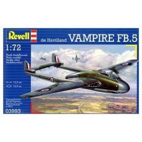 Военен самолет de Havilland Vampire FB.5 - Сглобяем модел Revell