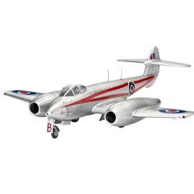 Военен самолет Gloster Meteor Mk.4 - Сглобяем модел Revell