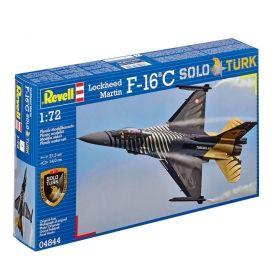 Военен изтребител Lockheed Martin F-16C Solo Türk - Сглобяем модел Revell