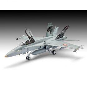 Военен самолет F/A-18C Hornet Swiss Air Force - Сглобяем модел Revell