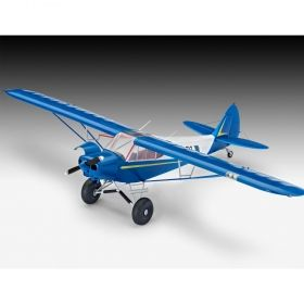 Самолет Piper PA-18 - Сглобяем модел Revell