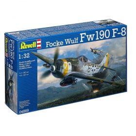 Самолет Focke Wulf Fw190 F-8 - Сглобяем модел Revell