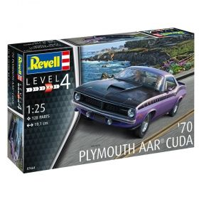1970 AAR Cuda - Модел Revell